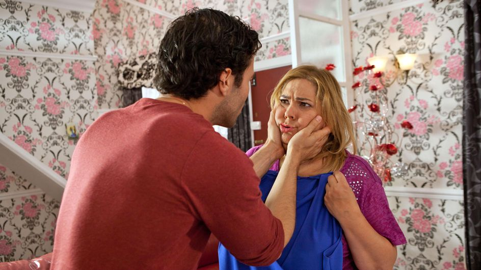 Hollyoaks 27/9 - Diego Urges Myra To Stay Away From The Wedding