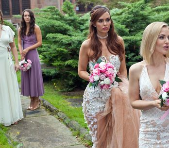 Hollyoaks 29/9 - Mercedes Dazzles With Her Elegant Bridal Look