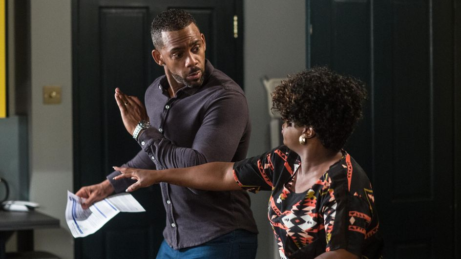 Eastenders 26/9 - Vincent Is Fuming After Kim Gets Him A Parking Ticket
