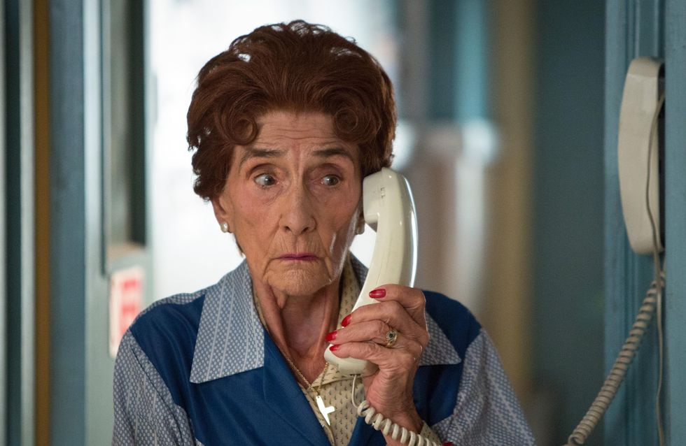 Eastenders 27/9 - Dot Is Alarmed When She Hears From Her Employers