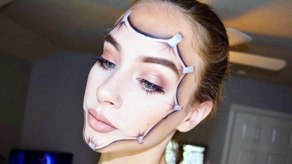 Las geniales maquillajes artísticos de una talentosa niña de 15 años