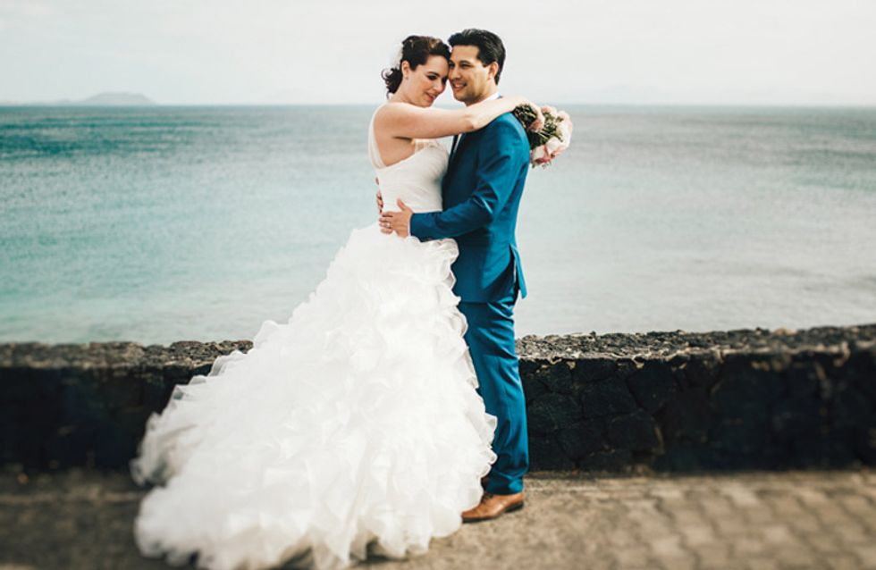 A Marriage Made In Heaven! This Canary Islands Wedding Is The Dream