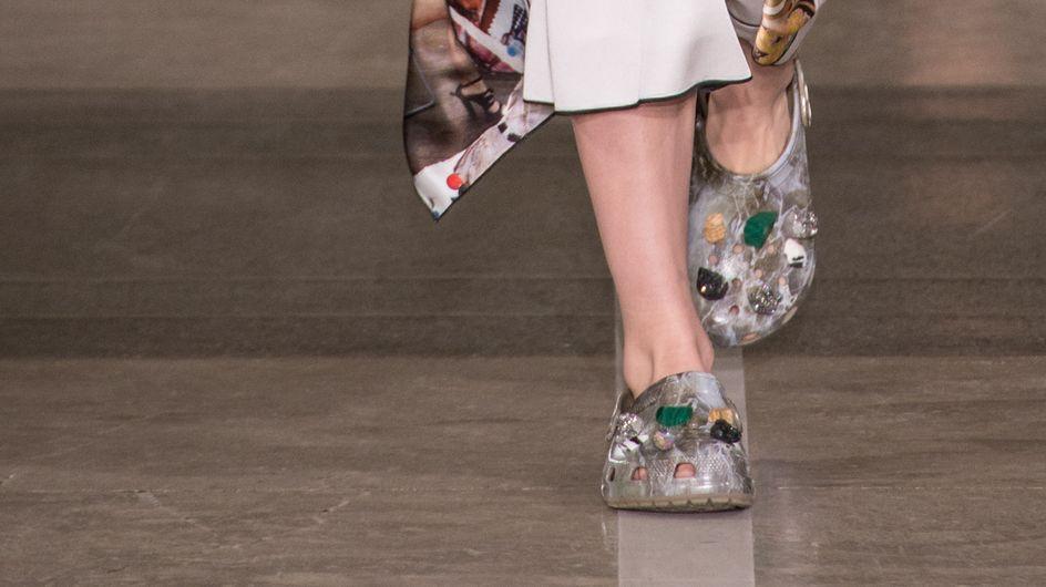 Les Crocs deviennent trendy et ça nous plaît (Photos)