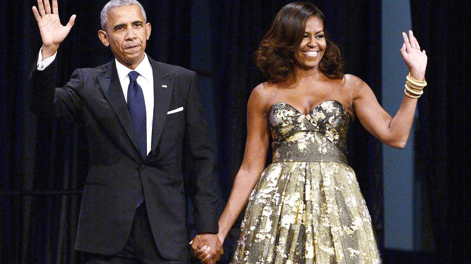 Michelle Obama prouve encore une fois qu'elle est la reine de l'élégance (Photos)