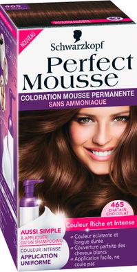 Perfect Mousse, Coloration Mousse Permanente, Schwarzkopf - 6,99€ chez Carrefour