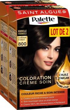 Coloration, crème soin, Palette, Saint Algue - 4,14€ chez Carrefour
