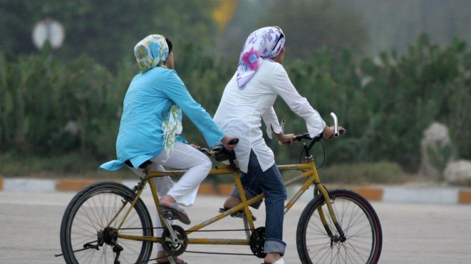 On leur interdit de faire du vélo, les Iraniennes ripostent (Photos)