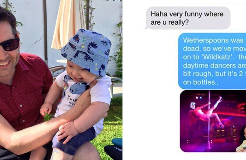 Mama geht wieder arbeiten: DAS passiert, wenn man Papa mit dem Baby alleine lässt