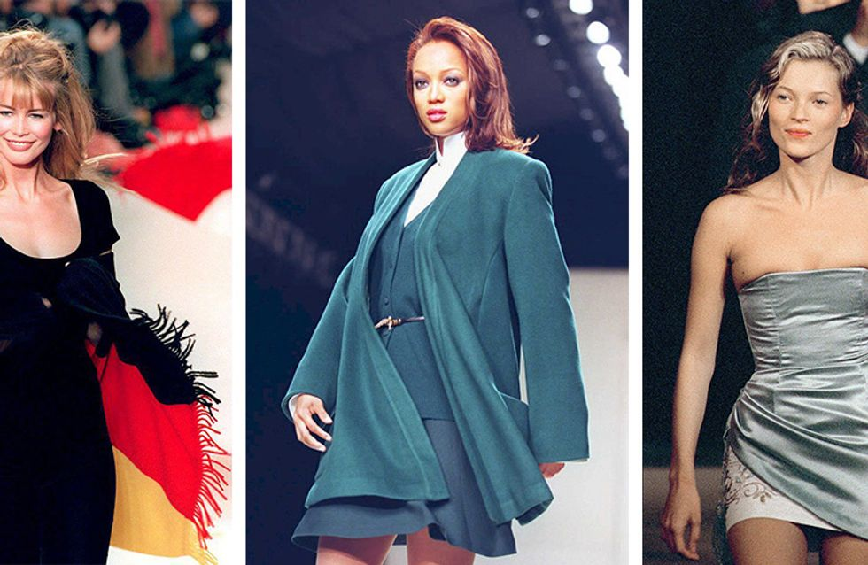 Growing Old Gracefully! Our Favourite Supermodels: Then and Now
