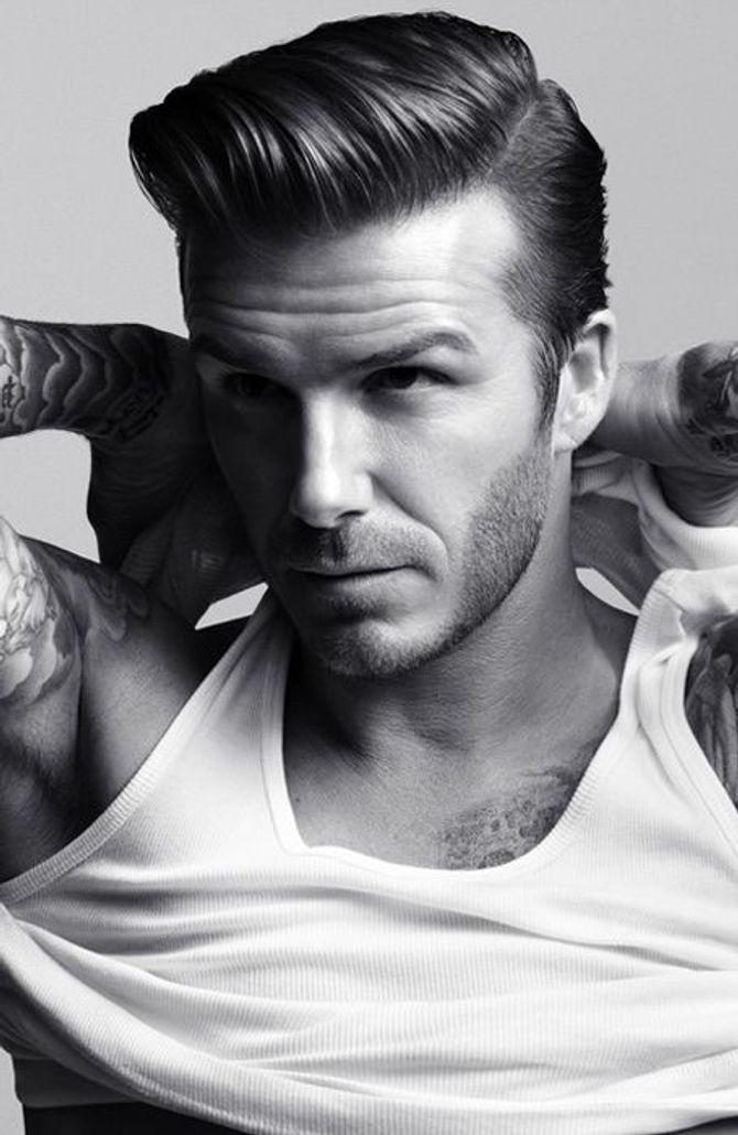 Undercut estilo Beckham