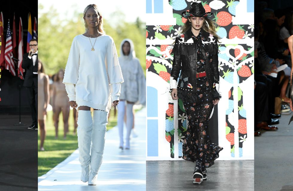 As 9 melhores tendências de moda desfiladas na New York Fashion Week