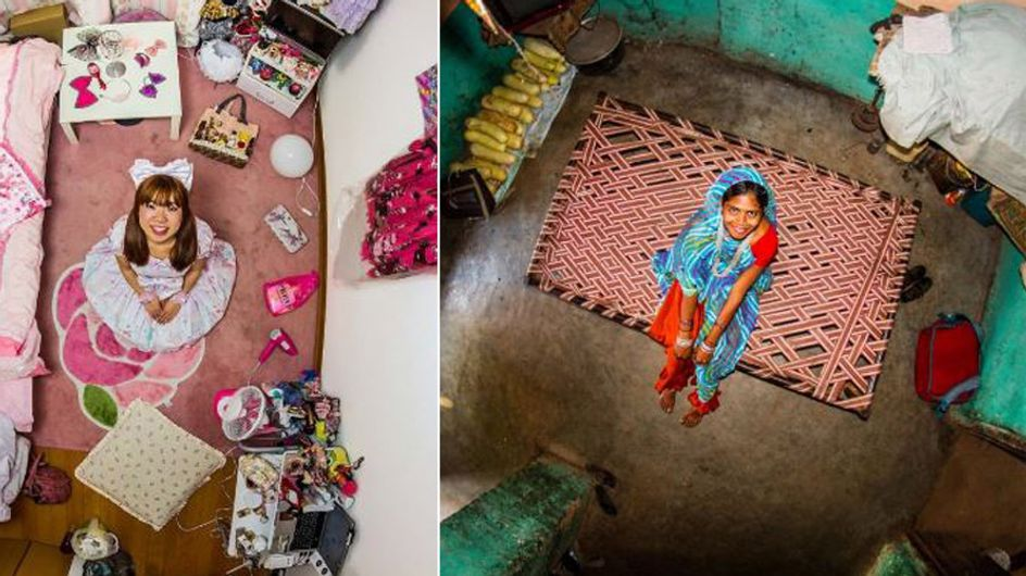 Ein Blick ins Schlafzimmer: Faszinierende Fotos zeigen, wie junge Menschen rund um die Welt leben