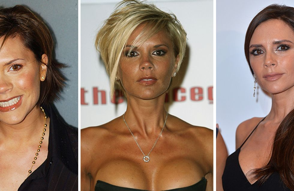 Victoria Beckham's Beauty Evolution