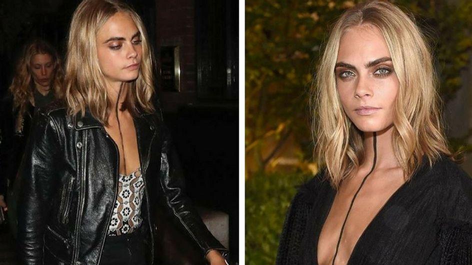 """Cara Delevingne transforme le """"body paint"""" en véritable accessoire de mode..."""