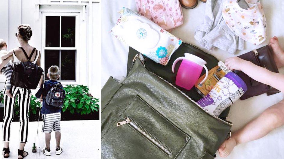 Die Baby-Packliste: Was muss alles in die Wickeltasche?