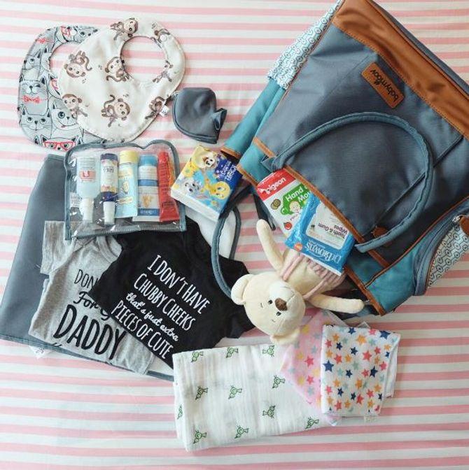 Was muss in die Wickeltasche?