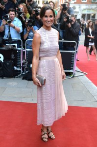 Pippa Middleton sur le red carpet