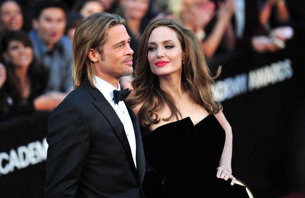 Angelina Jolie huye del trabajo para no coincidir con Brad Pitt