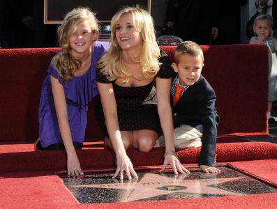 Reese Witherspoon avec ses deux premiers enfants : Ava et Deacon