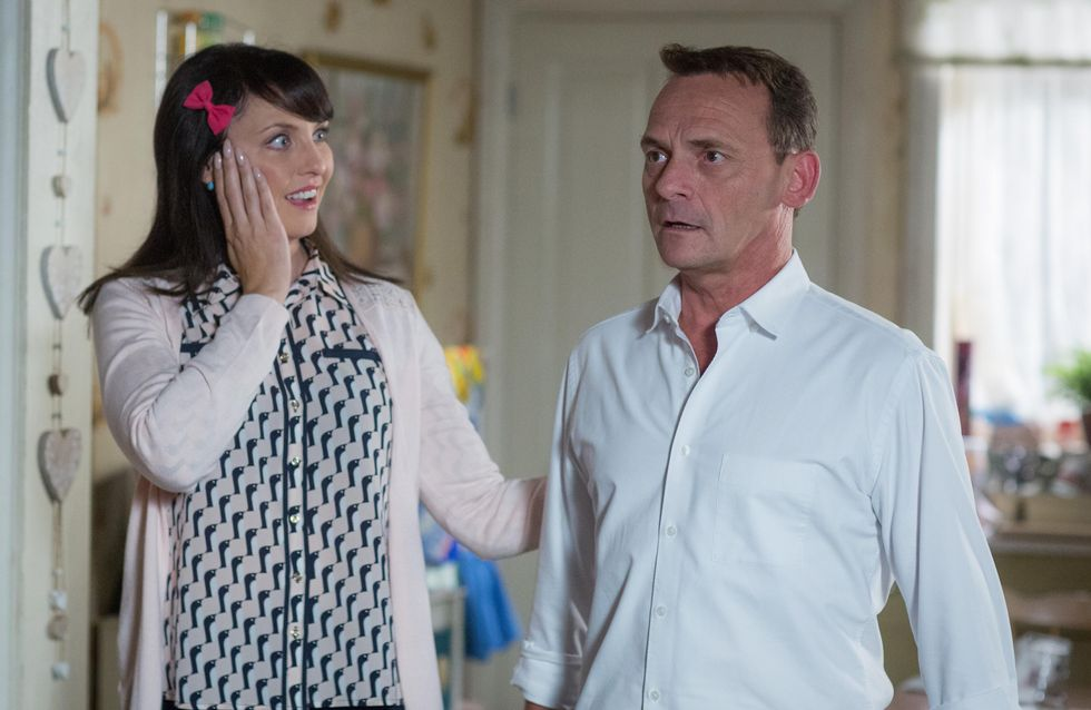 Eastenders 03/10 - The Cokers Have Good News For Honey And Billy