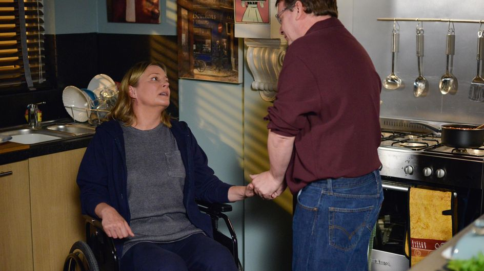 Eastenders 04/10 - Jane Tells Ian She Wants Them To Be A Normal Couple