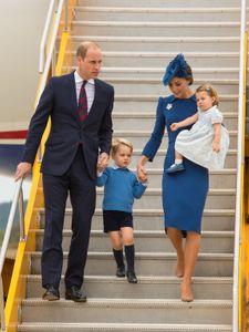 Le prince William, Kate Middleton et leurs enfants le 24 septembre 2016
