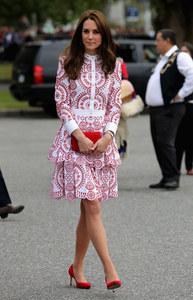 Kate Middleton à Vancouver le 25 septembre 2016