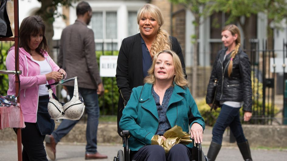 Eastenders 06/10 - Whitney Helps Lee Prepare For A Job Interview