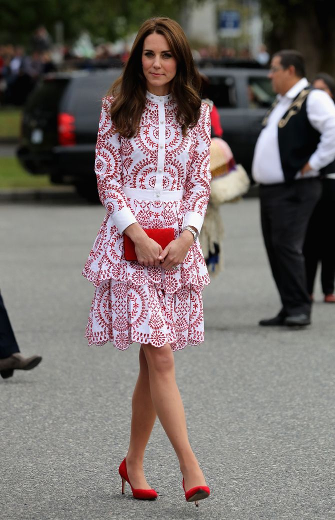 Kate Middleton à Vancouver le 25 septembre 2016