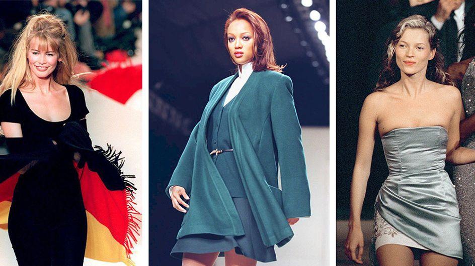 O antes e o depois das nossas supermodelos favoritas