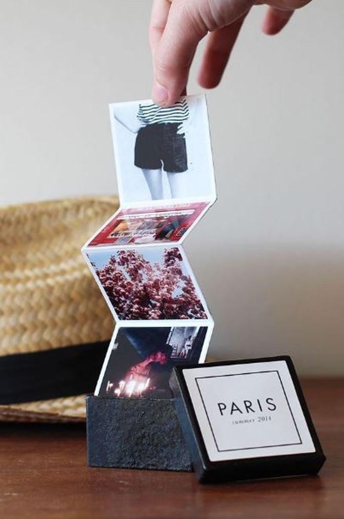 10 DIY Foto-Ideen Mini-Album