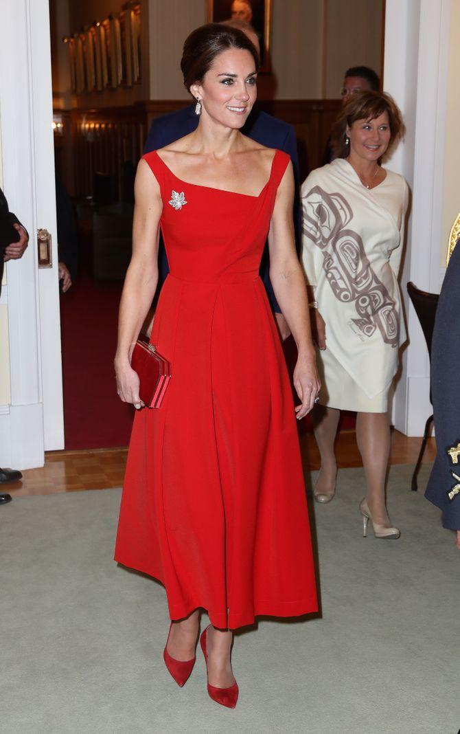 Kate Middleton, le 26 septembre 2016, à Victoria au Canada
