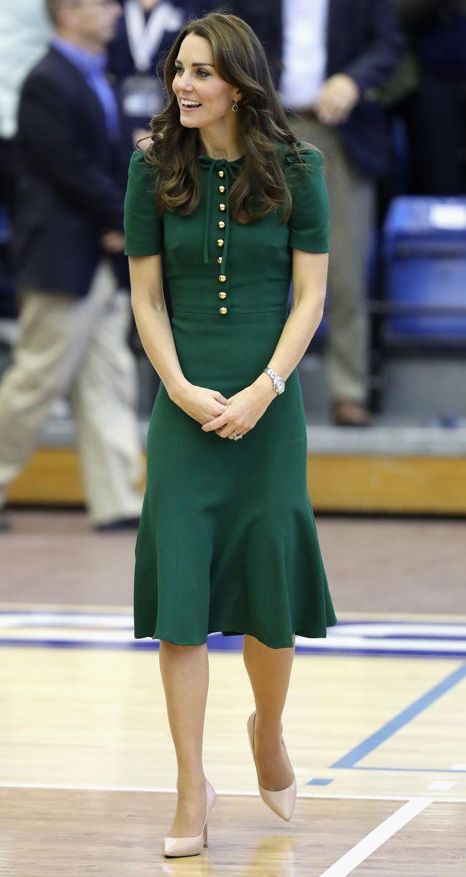 Kate Middleton, le 27 septembre, à Kelowna au Canada