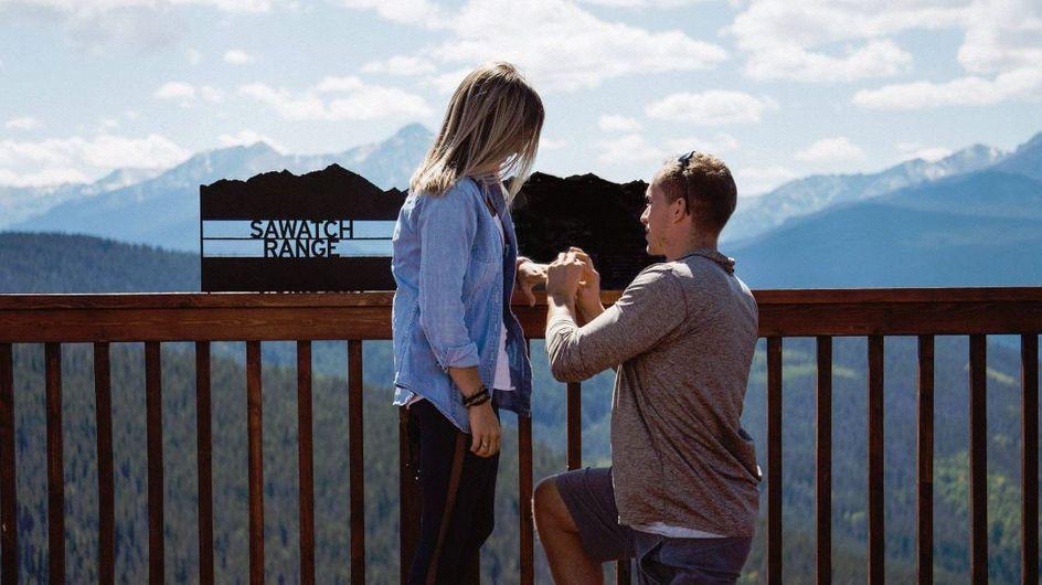 Er hält um ihre Hand an - und überrascht sie mit der Trauung noch am gleichen Tag