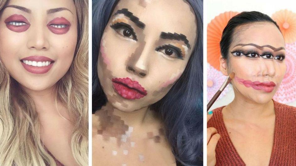 Cette magicienne du make-up frappe très fort avec ses tutos beauté hallucinants ! (Photos et vidéos)
