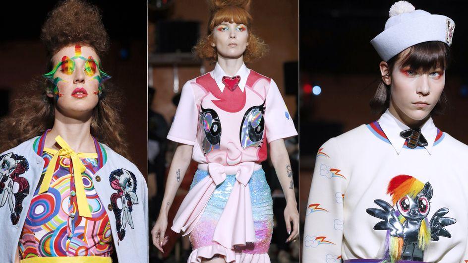Mon Petit Poney envahit les podiums de la Fashion Week (Photos)