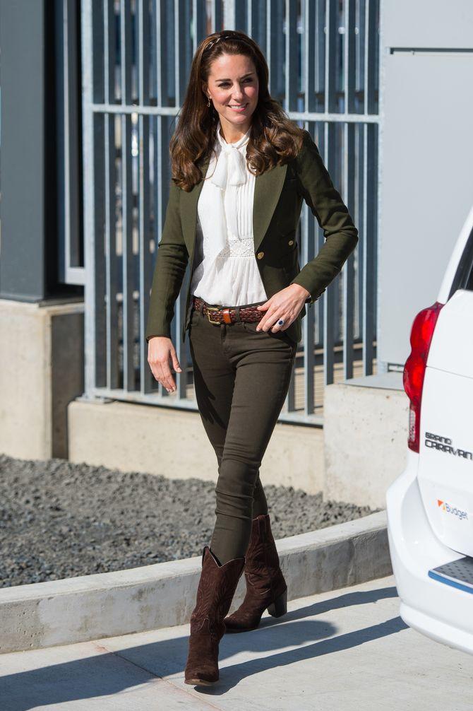 Kate Middleton, le 30 septembre, pour l'ouverture du nouveau hôpital Haida Gwaii