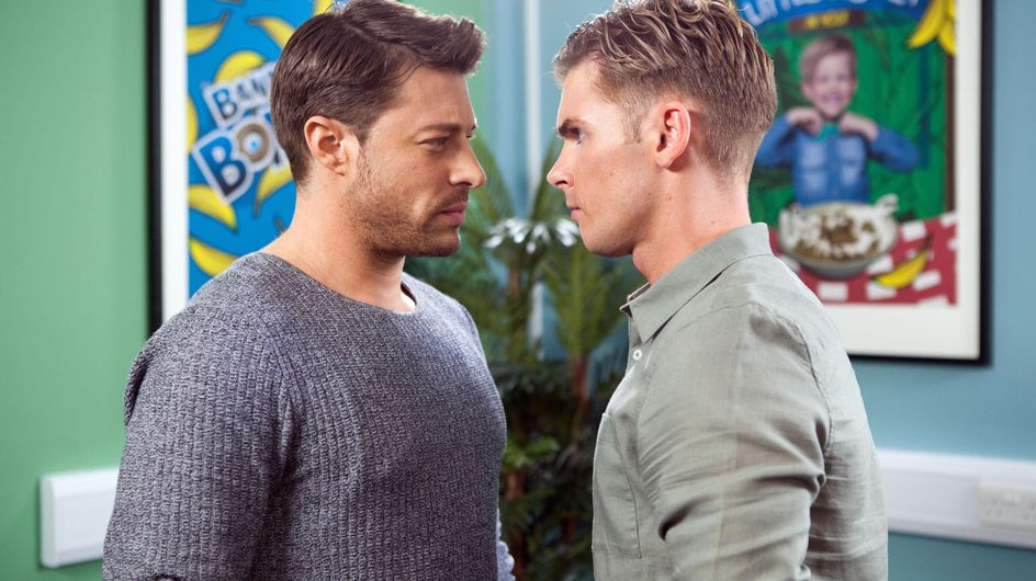 Hollyoaks 10/10 - Ste And Ryan Have A Heated Row