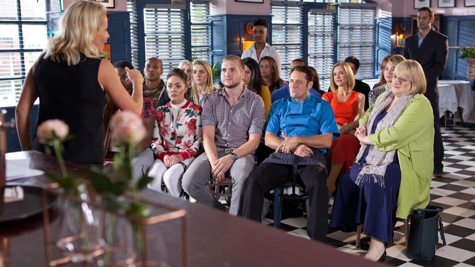 Hollyoaks 13/10 - A Crowd Gathers To Stop Jude's Development