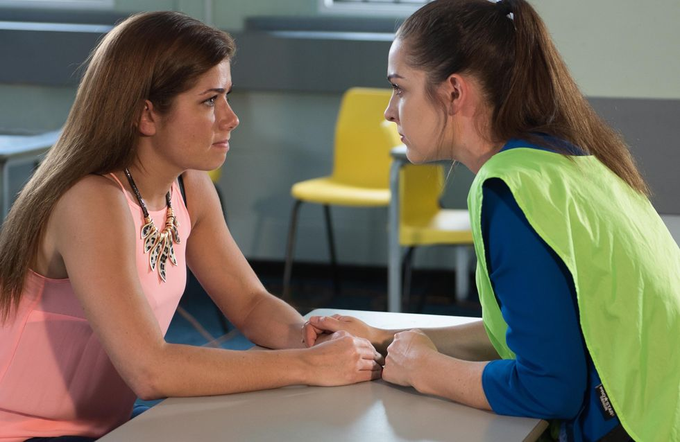 Hollyoaks 14/10 - Maxine Visits Sienna In Prison To Get The Truth