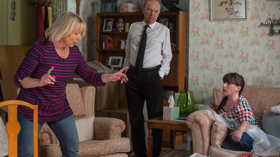 Eastenders 10/10 - Kim Tries To Make Denise Face Reality