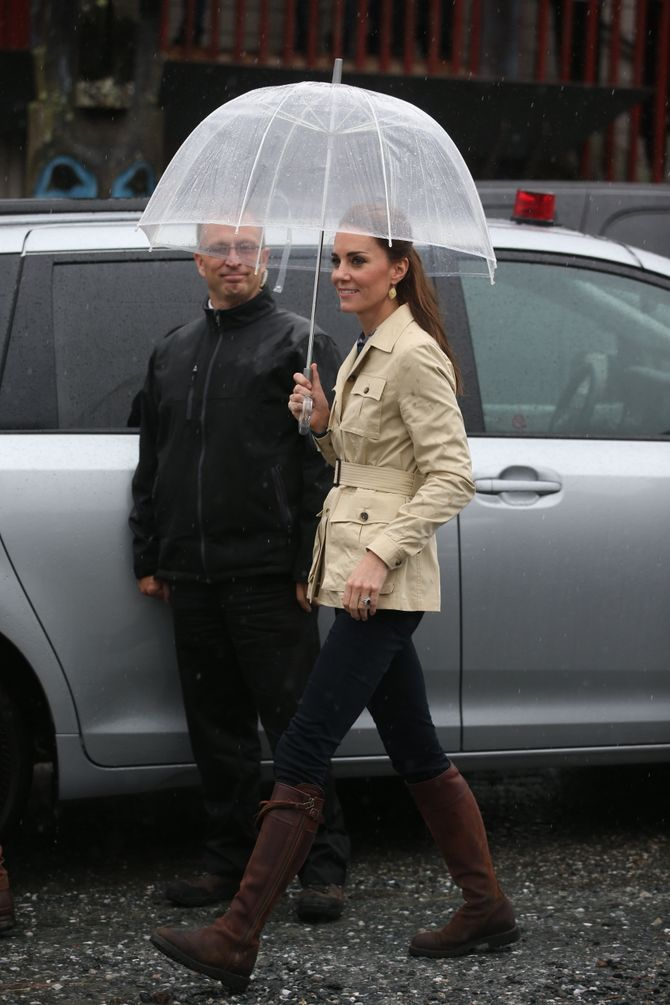 Kate Middleton à Bella Bella - Canada - en septembre 2016