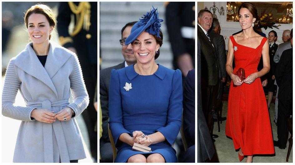 La visite fashion de Kate Middleton au Canada (Photos)