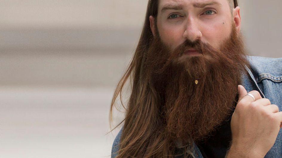 Ahora al hombre lija, ¡le van las alhajas! Llegan las joyas para barba