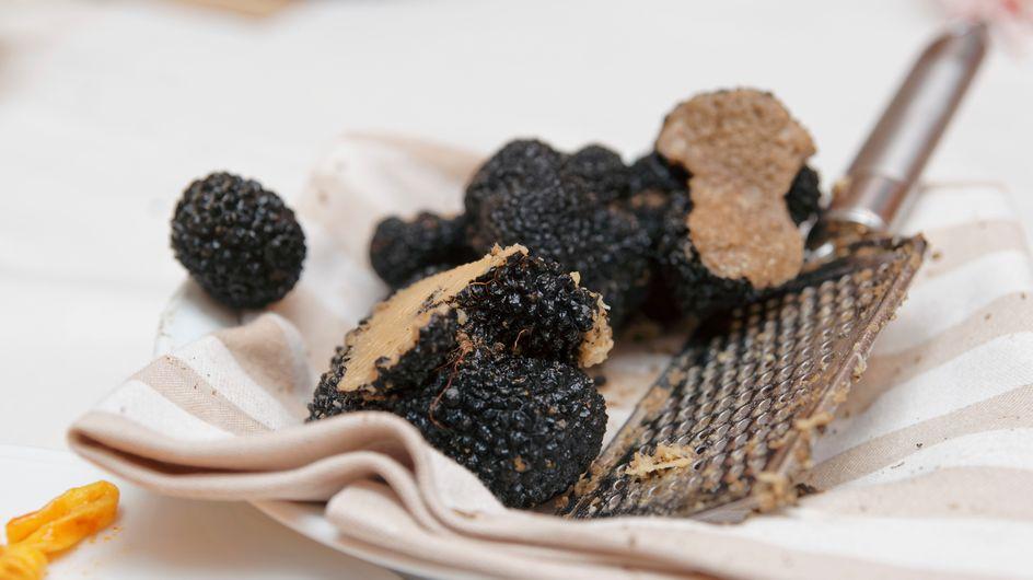 Trop chic, des truffes à table !