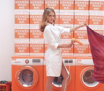 HermèsMatic, la exclusiva lavandería para los pañuelos de seda de la firma