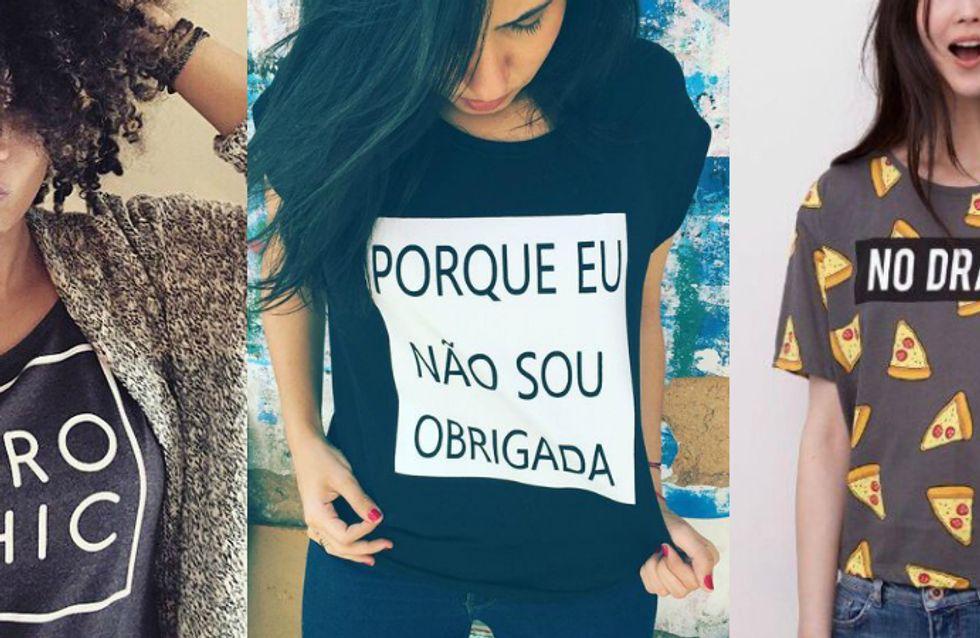 6 lojas de camisetas online para você se apaixonar imediatamente