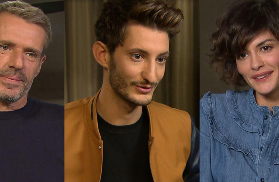Pierre Niney, Audrey Tautou et Lambert Wilson nous ont parlé du film L'Odyssée (Itws vidéos)