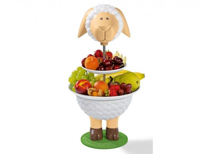 Die Tortenständer eignen sich super für Obst und Snacks