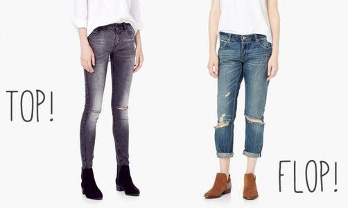 Choisir un pantalon quand on a des petites jambes